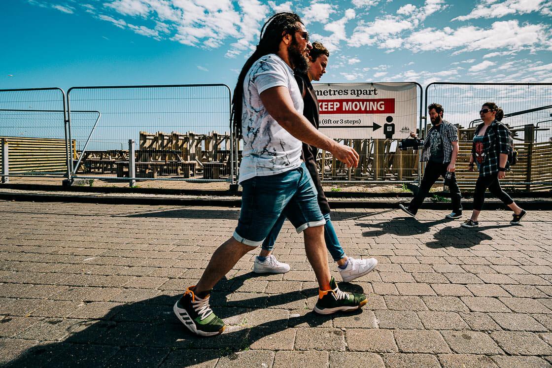 Keep Moving - Brighton Street Photography