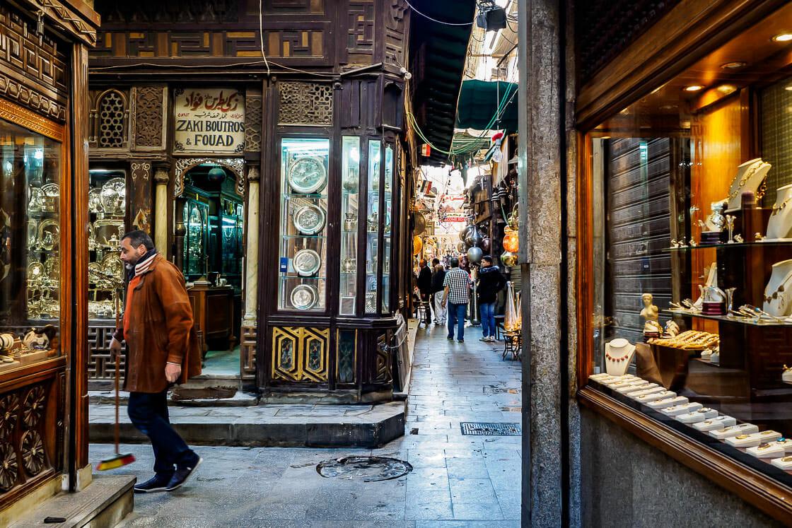 Khan el-Khalili Souq and Bazaar - Old Cairo - Egypt