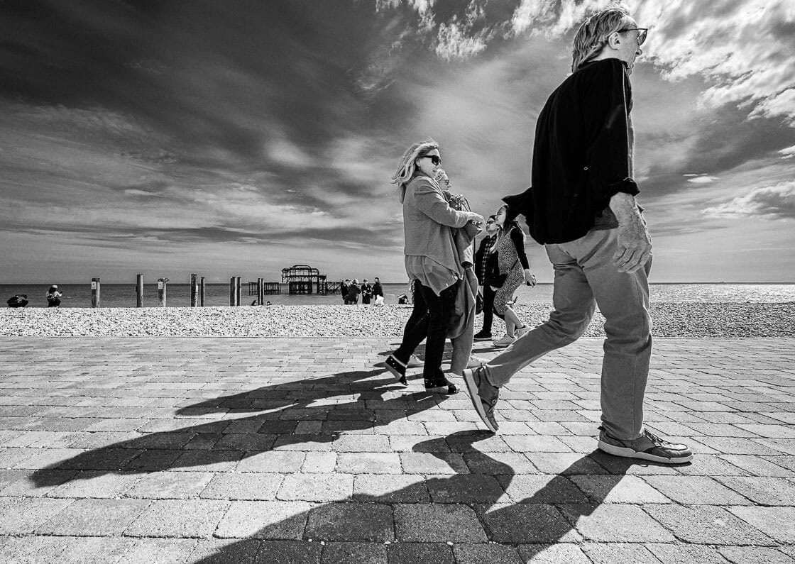 Seafront Swagger - Brighton Street Photography